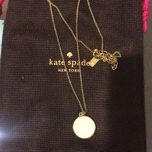 Kate Spade pendant necklace - creme de la creme